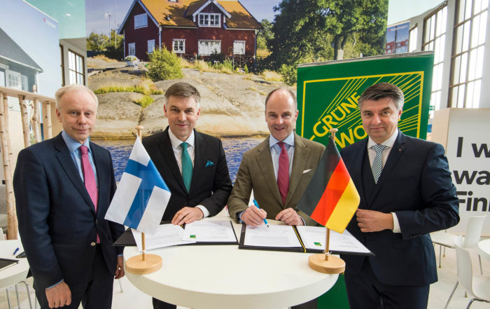 Finnland ist Partnerland der Grünen Woche 2019